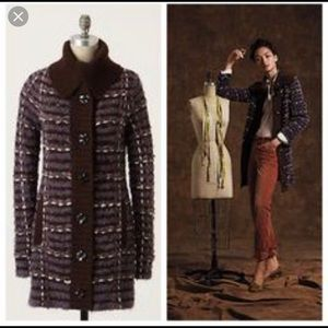 Sleeping on Snow Stitched by Stitch Sweater Coat